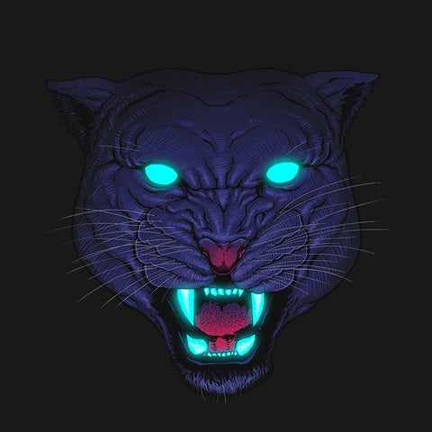 Artokingo - Electric Panther T-Shirt