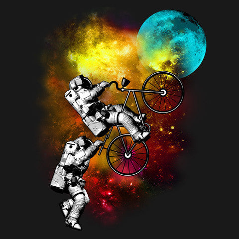 Artokingo - Cycle to the Moon T-Shirt