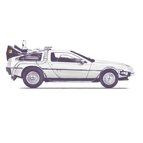Artokingo - Back to the Future's Delorean T-Shirt