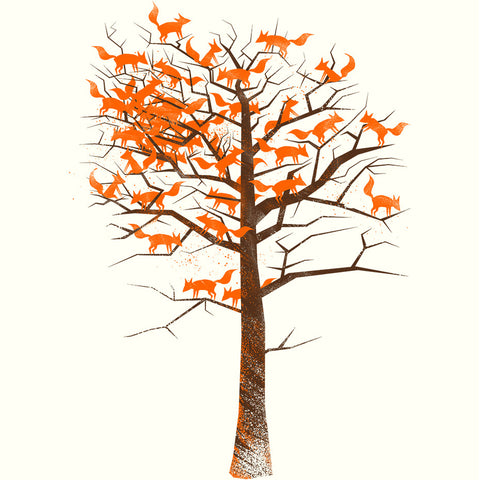 Artokingo - Fox Tree T-Shirt