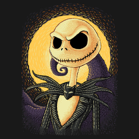 Artokingo - Hallowen Portrait T-Shirt