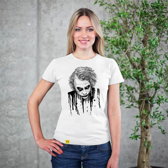 Artokingo - The Joker White T-Shirt by Nicebleed
