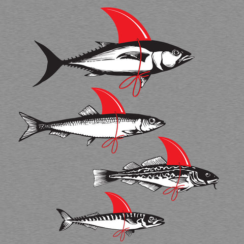 Artokingo - Fish Attack T-Shirt