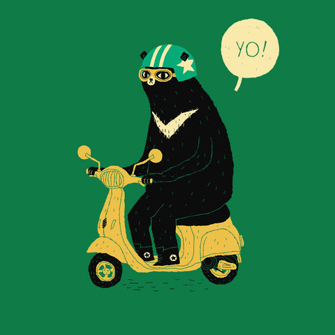 Artokingo - Scooter Bear T-Shirt