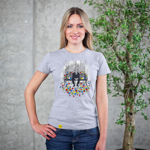 Artokingo - Them Birds Grey T-Shirt by Dandingeroz