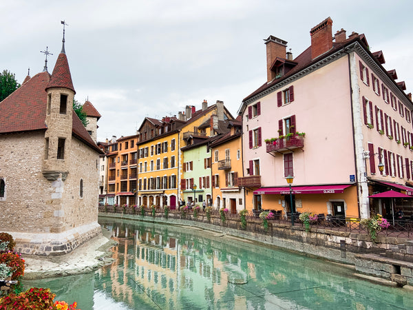 Indian Summer in the French city of Annecy