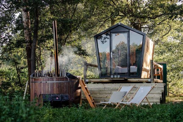 Luxury overnight stays in the Dutch wilderness