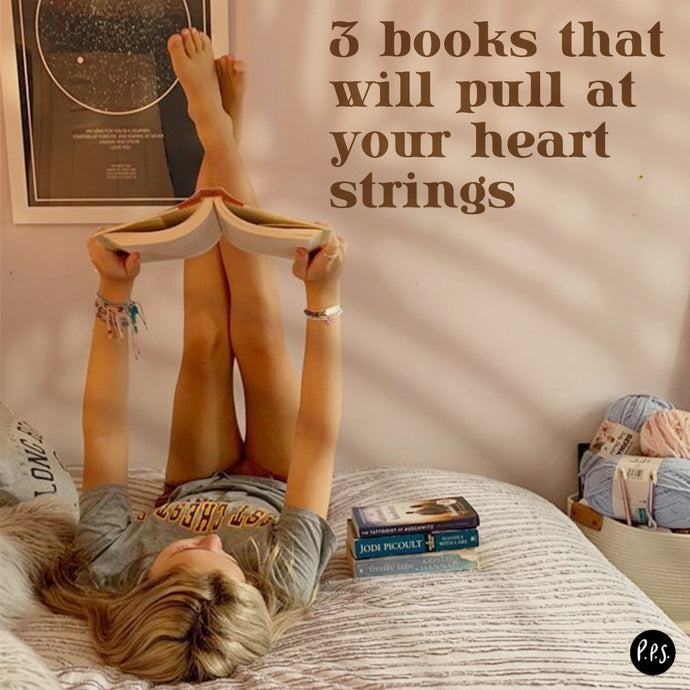 3 Books That Will Pull At Your Heart Strings