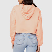 Load image into Gallery viewer, Books Over Boys Peach Crop Hoodie