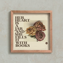 Load image into Gallery viewer, Her Heart Is A Jar Art Print