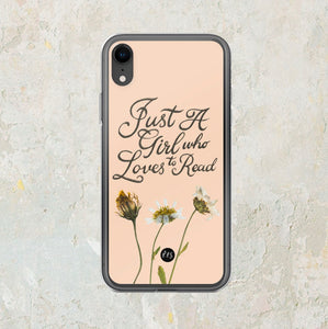 Just A Girl iPhone Case