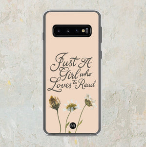Just A Girl Samsung Phone Case