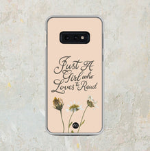 Load image into Gallery viewer, Just A Girl Samsung Phone Case