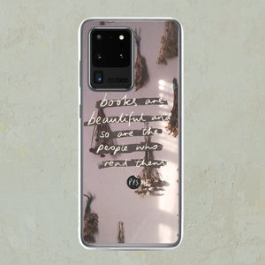 Books Are Beautiful Samsung Phone Case