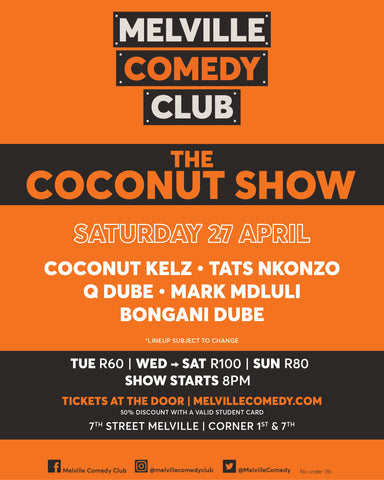 27 April - The Coconut Show
