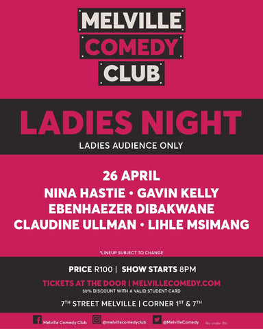 26 April - Ladies Night