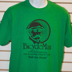 Bicycleman T-Shirt Antique Green