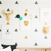 Wall Triangles  Decor Kids Bedroom