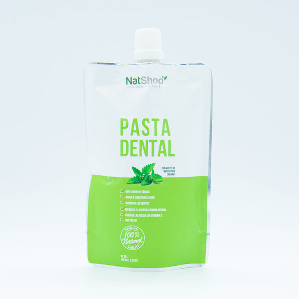 Pasta dental natural 150g - Menta USDA Organic