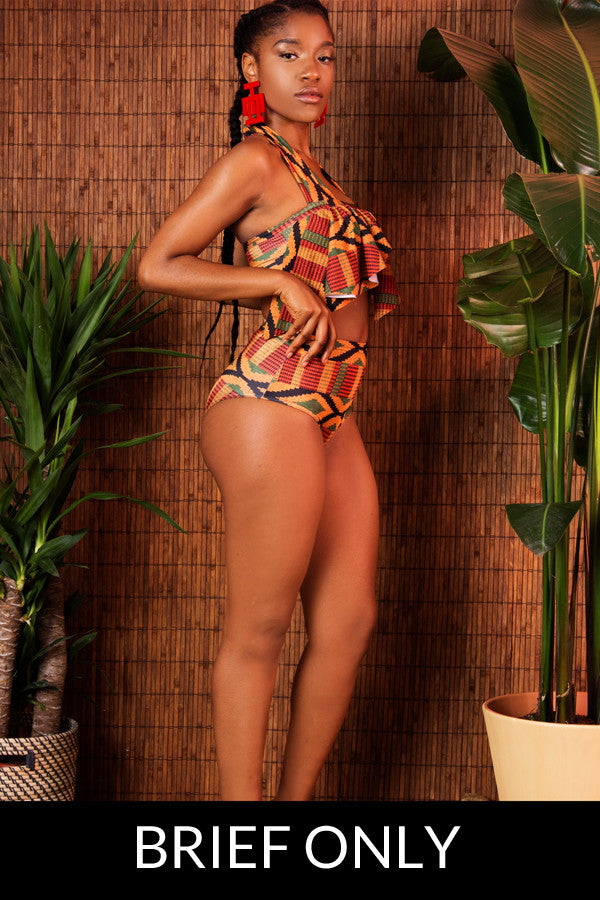 Kente Swimsuit Brief
