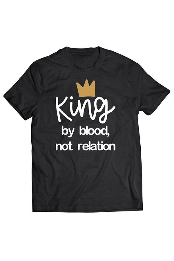 King By Blood Tee by Thought Provoking