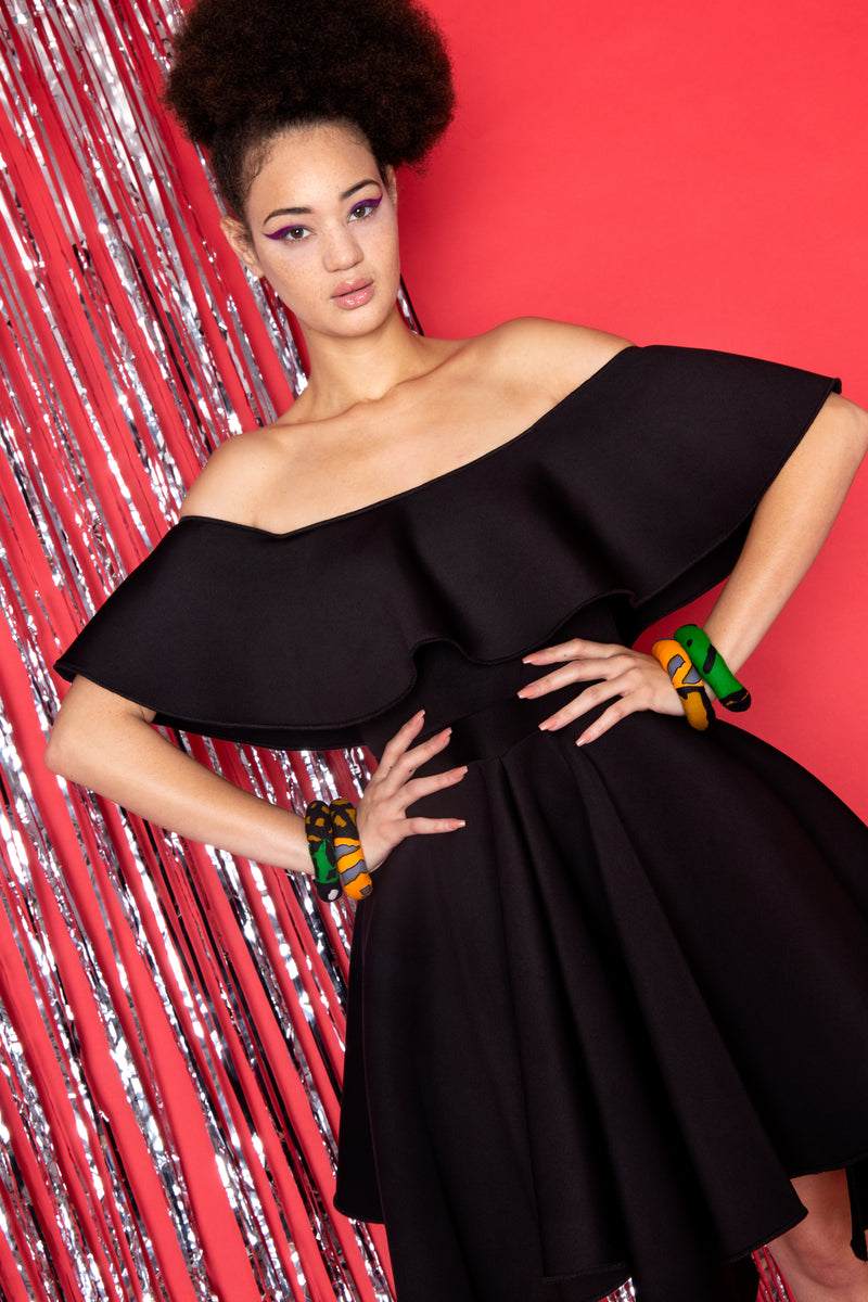 Off The Shoulder Mambo Dress
