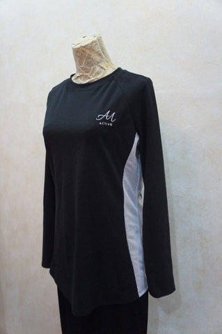 Stefan Raglan Top by Anah Maria Active