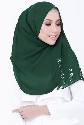 Avida Shawl by Radiusite - Emerald Green
