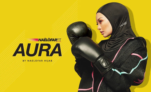 Aura Sports Hijab by Naelofar Hijab