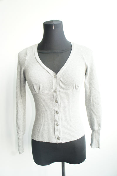 Ribbed Knit Cardigan (Preloved)