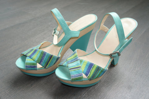 Wedge Sandals - Nine West (Preloved)