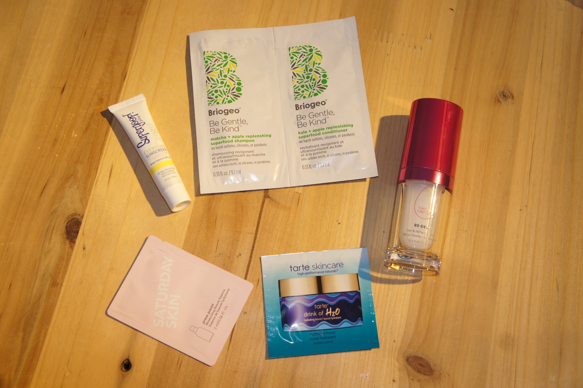 Sephora Trial Pack