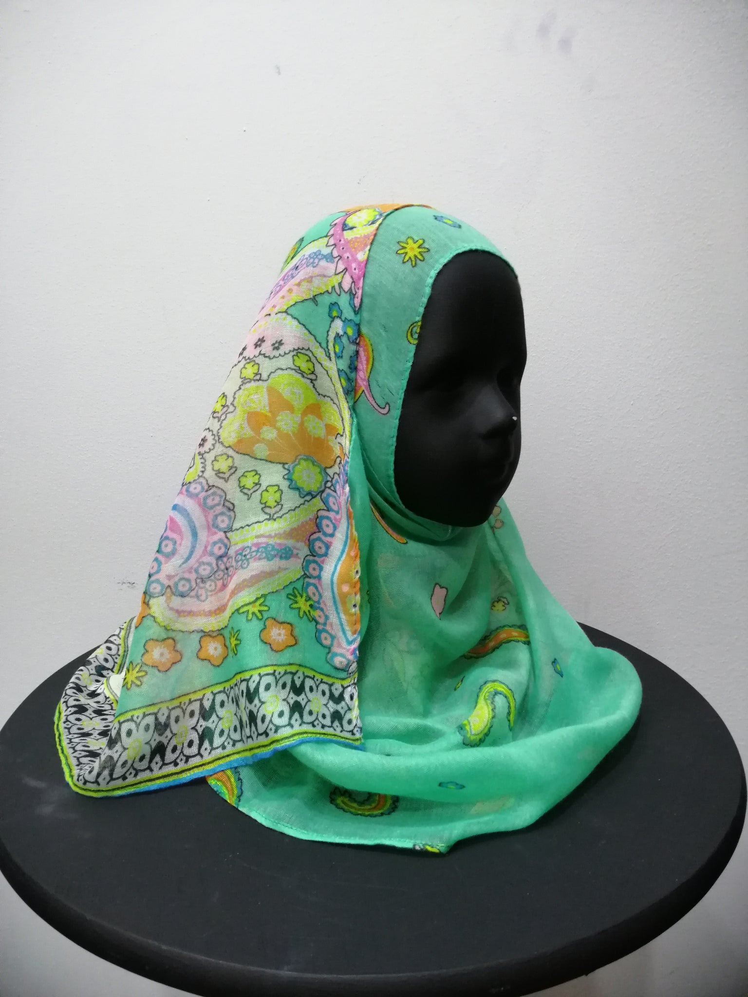Kids Printed Instant Shawl