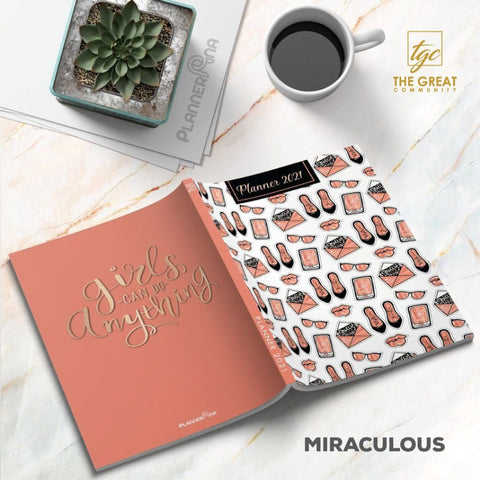 2021 Planner - Miraculous