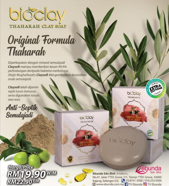 Bioclay Thaharah Clay Soap