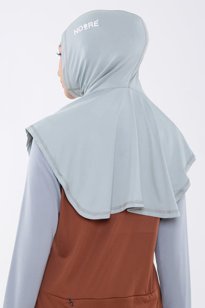 Sarai Sports Hijab - Light Grey