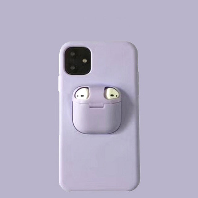 MYphone™ - 2 in 1 AirPods & iPhone Case