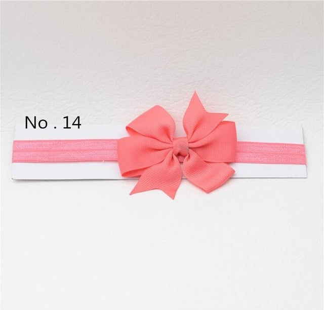 headwrap baby headbands headwear girls bow knot hairband head band infant newborn Toddlers Gift tiara hair accessories clothes