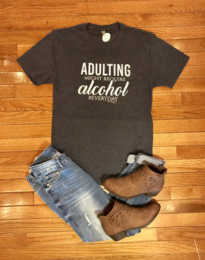 Adulting Might Require Alcohol