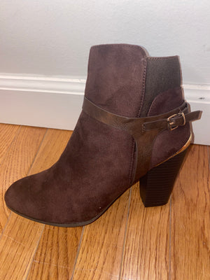 Gold Rush Brown Bootie