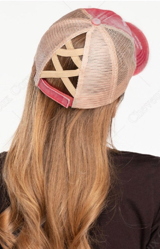 Cross Cross spiny Ball Cap