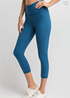 Capri Leggings W/ Front Pockets