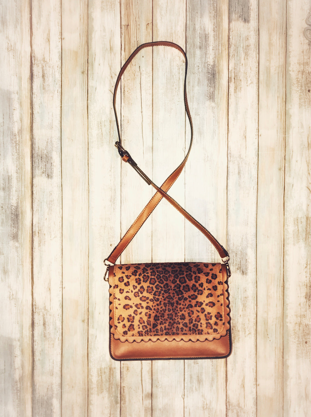 Run The Show Leopard Crossbody