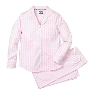Women's Gingham Pajamas