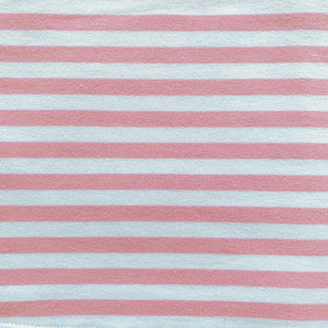 Anna Dress Stripes Sugar Pink