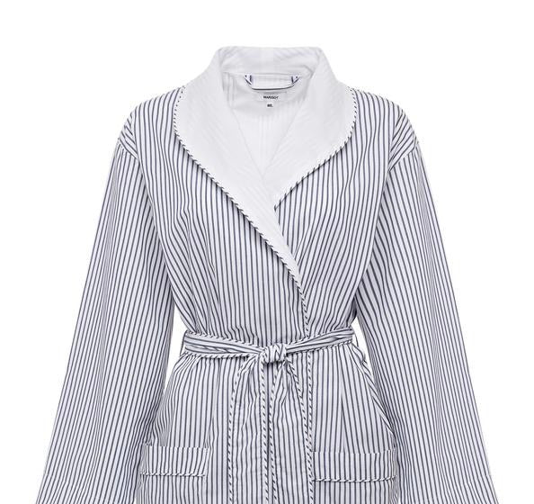 Lightweight Stripe Robe