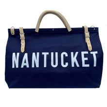Load image into Gallery viewer, Nantucket Canvas Carryall
