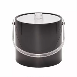 Black 3qt Ice Bucket