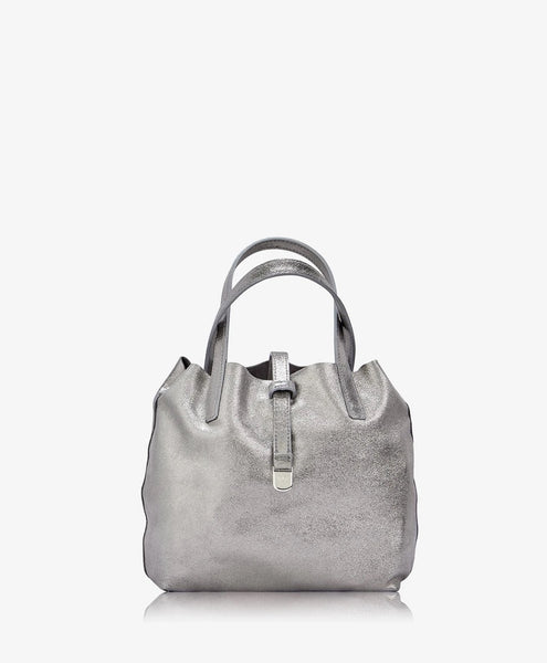 Reversible Mini Metallic Tote