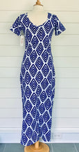 Load image into Gallery viewer, Florence Dress Arrowhead Cobalt